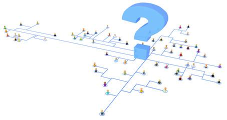 Cartoon Crowd, Question System