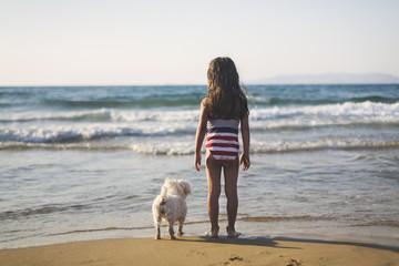 Friendship on the beach