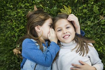 Friends share a secret