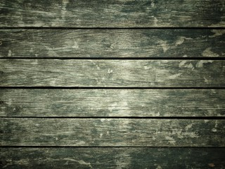 Abstract black and white filter on vintage wooden floor texture background