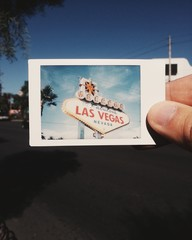 Instant Photo from Las Vegas