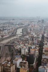 Saigon skyline ho chi minh city vietnam