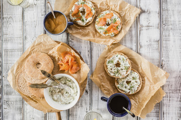 Lox Bagels and Coffee