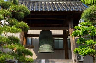Big Bell at Takaoka temple, Toyama prefecture, Japan.