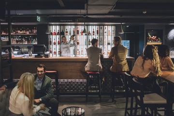 People at a Bar