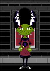 Cartoon Frankensteins Monster