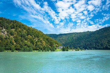 Idyllic part of the Danube Valley, Donauschlinge, Austria