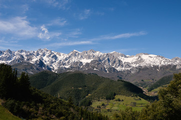 Picos Europa, captured in Cantabria, Spain