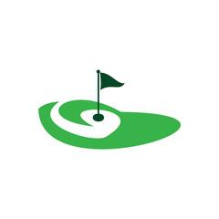 logo golf club golf championship golf tournament on white background illustration