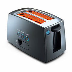 Modern kitchen toaster