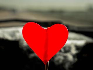Close-Up Heart Shape Candy