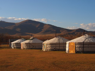 Traditional Mongolian Gers