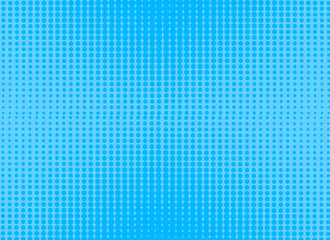 retro comic blue dot background raster gradient halftone, stock vector illustration eps 10