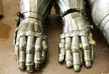 Metal Armor Gloves