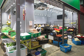 Grocery Store For Fresh Produce in Hong Kong