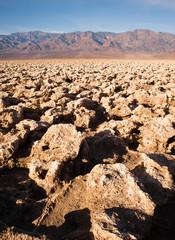Devils Golf Course Death Valley National Park California