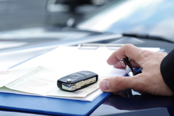 Autokauf, Kaufvertrag