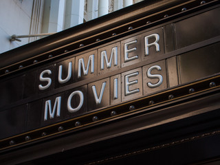 Summer Movies Marquee