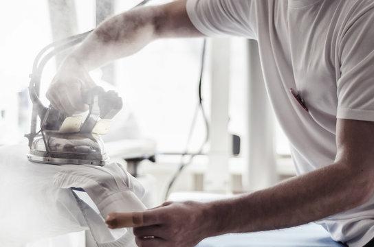 hand ironing
