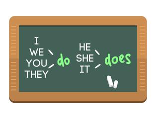 Green chalkboard school education class blank blackboard vector illustration