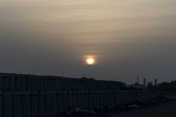 Sunset in Djibouti, East Africa