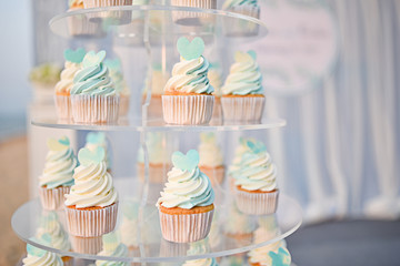 Wedding Cupcake setup