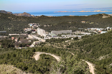 Le campus de Luminy