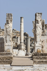 Hercules gate in the ancient city of Ephesus (Turkey)