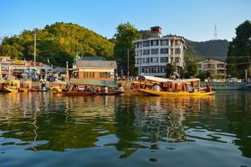 Dal Lake view in Kashmir