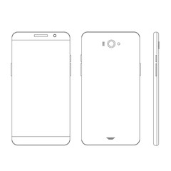 Mobile template outline