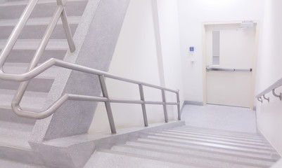Stairwell in officer
