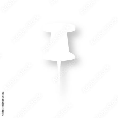 Icon Mit Schatten Pinnwand Nadel Stockfotos Und Lizenzfreie