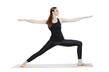 Yoga Warrior Pose - Virabhadrasana