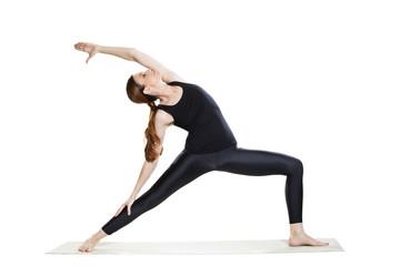 Yoga Warrior Pose Variation - Virabhadrasana