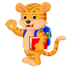 little tiger goes to school