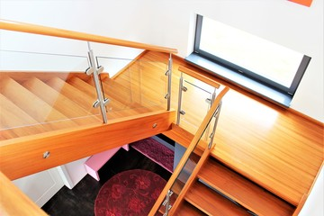 An image of a stair case - interior