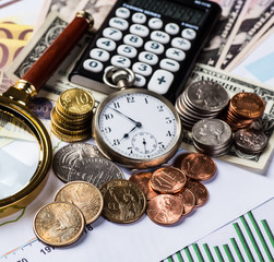 accounting, financial business strategy