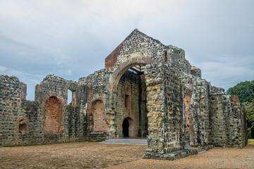 Ruins of the Convent of Conception (Convento de las Monjas de la Concepción) at Panama Viejo Ruins - Panama City, Panama