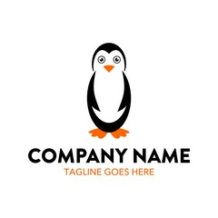 Unique Penguin Logo