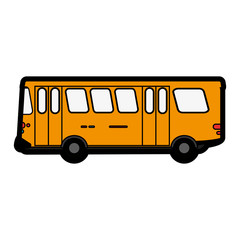 bus flat illustration icon vector design graphic cartoon