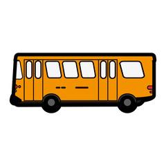 bus flat illustration icon vector design graphic cartoon