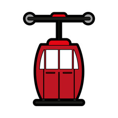 subway transport fast flat illustration icon vector design graphic