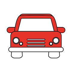 Wall Murals Cars car flat illustration vector design graphic icon