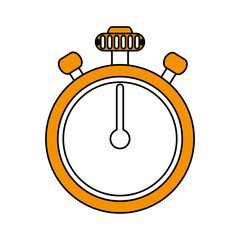 chronometer flat illustration icon vector design graphic