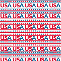Pattern background Made in USA Icon
