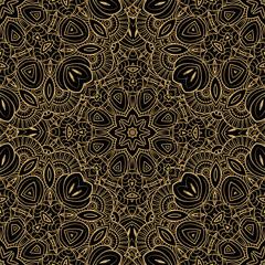 Ethnic decorative seamless pattern