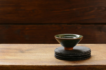 Traditional oriental green tea