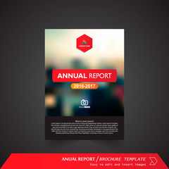 Anual Report , Brochure Template - page 01
