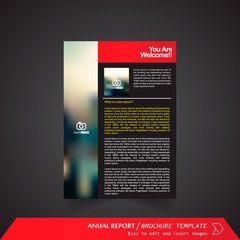 Anual Report , Brochure Template - page 03