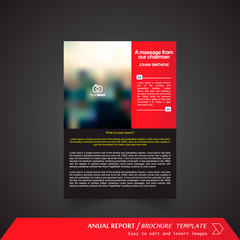 Anual Report , Brochure Template - page 05